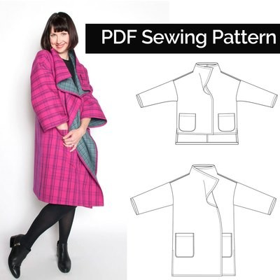 Flatiron Coat & Jacket (Download) PD065