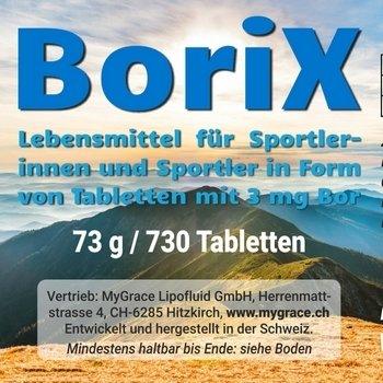 MyGrace BoriX 3 mg Bor 730 Tabletten