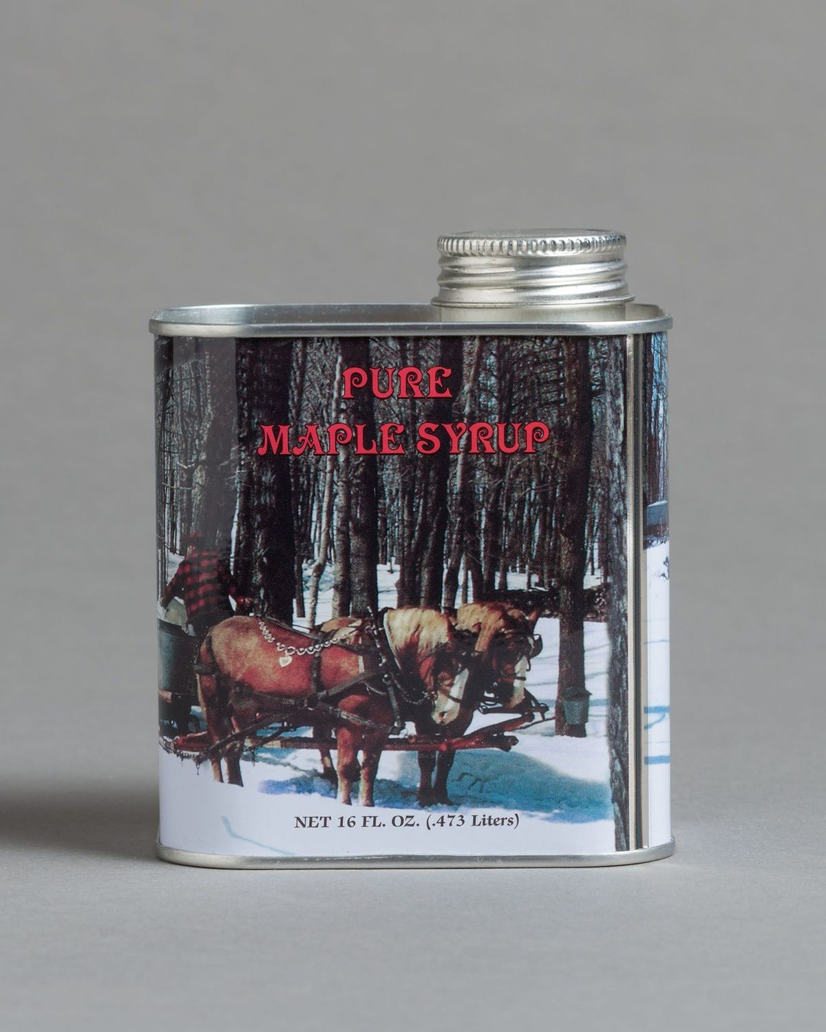 Maple Syrup Metal Can, 1 pint