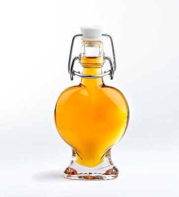1.4  ounce glass heart, maple syrup