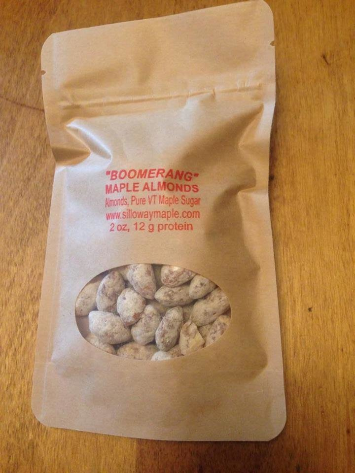 """""""Boomerang""""  2 ounce Maple Almond Pack"""