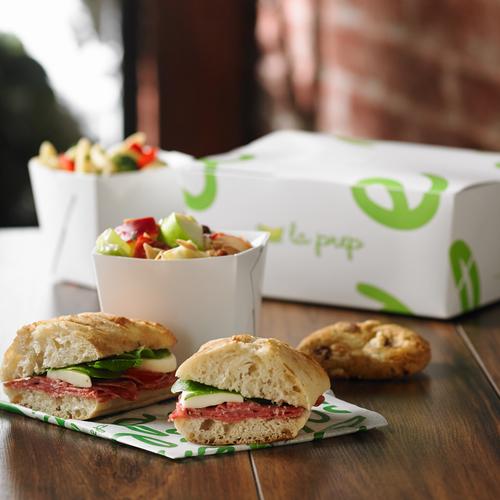Boite à lunch - Sandwich panini