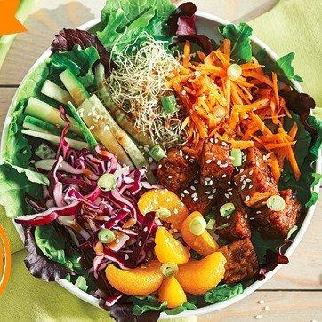 Asian Tempeh Salad