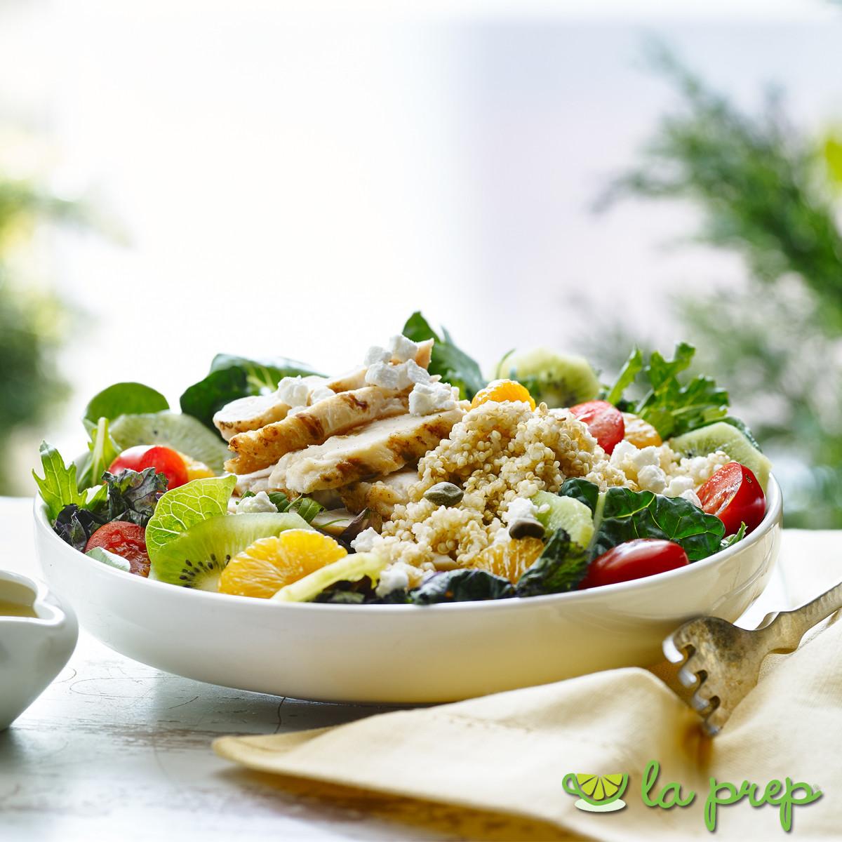 Tropical Chicken and Quinoa Salad