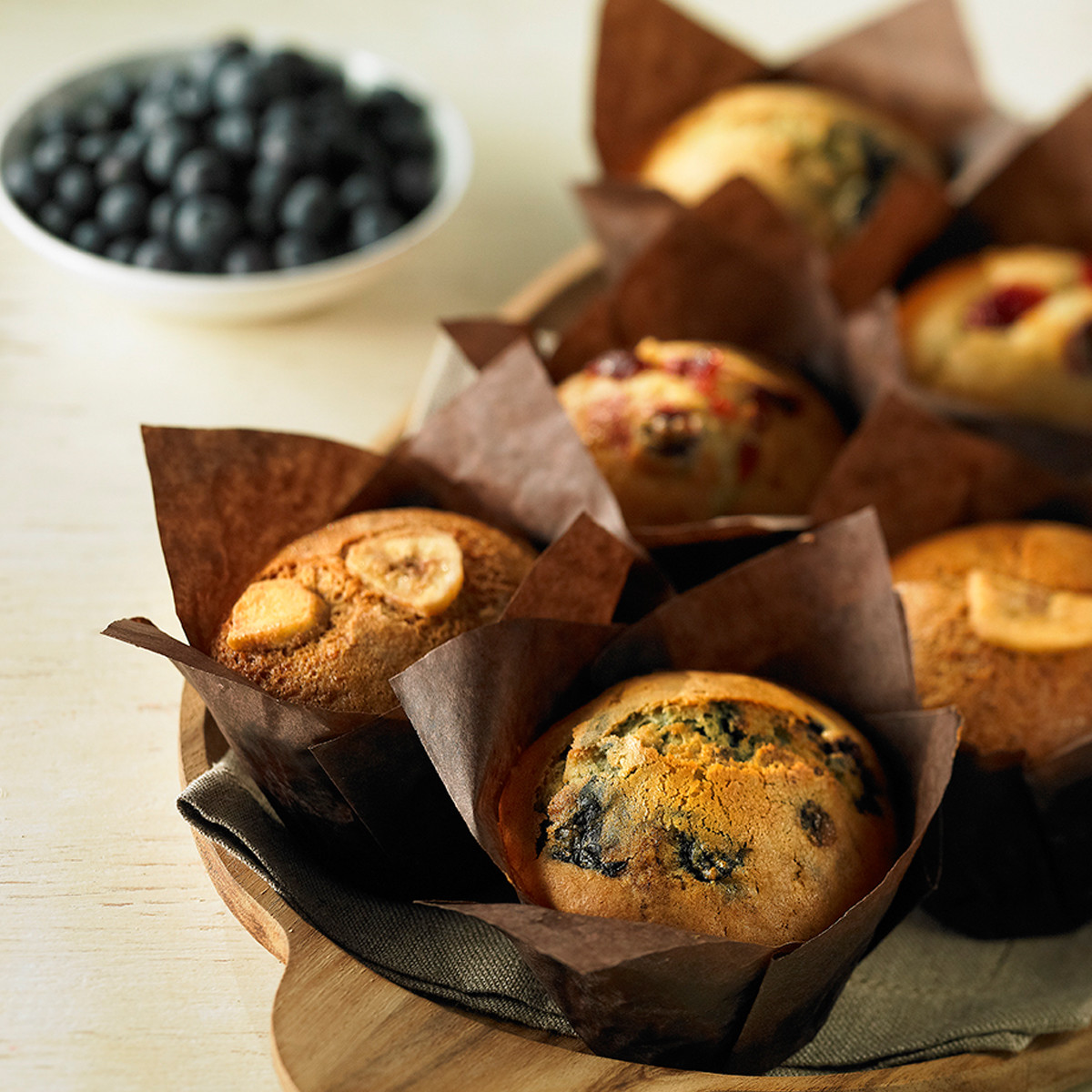 Sélections de muffins