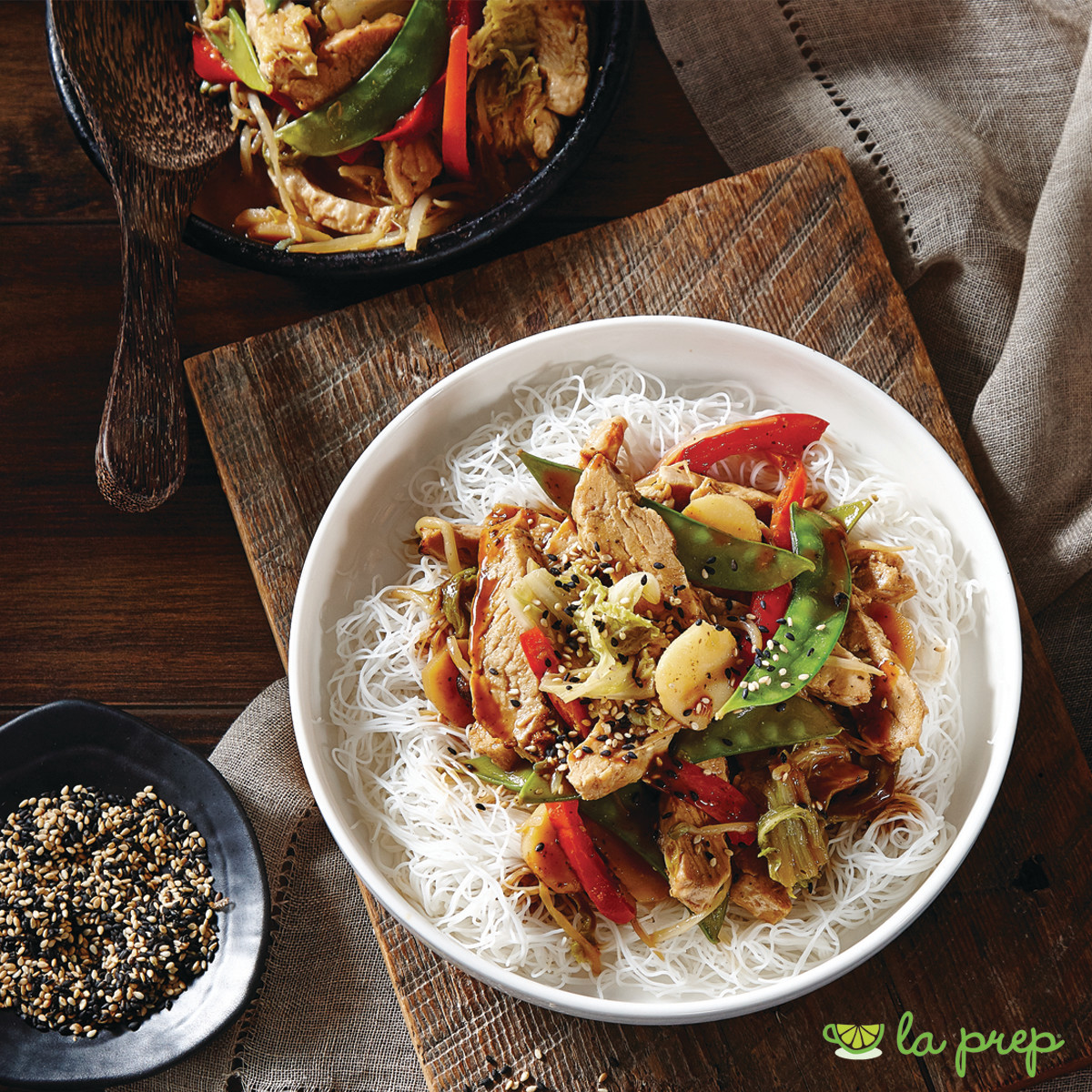 Thai Sesame Chicken or Beef