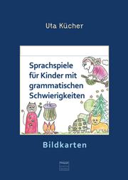 Sprachspiele für Kinder - 29 farbige Bildkarten auf Karton