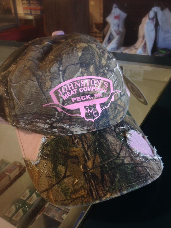 Rough Pink Camo Hat