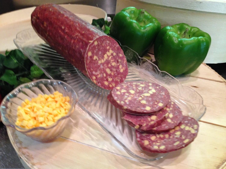 Venison Summer Sausage w/ Cheese
