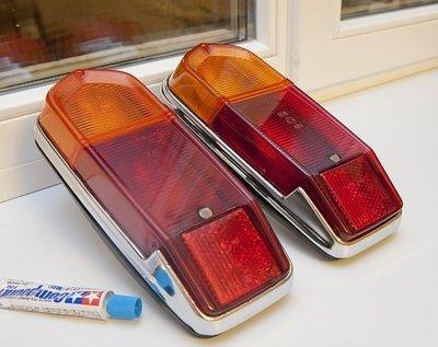 задние фонари на ВАЗ 2102