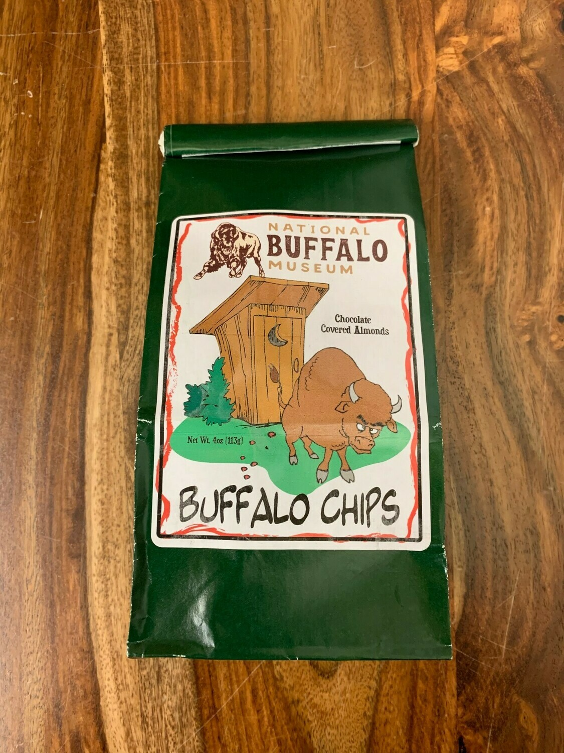 Buffalo Chips, Chocolate Candy