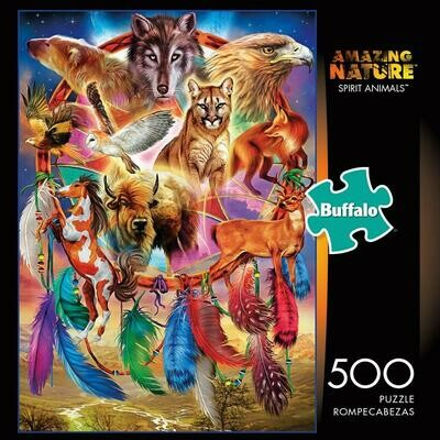 Spirit Animals Puzzle