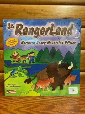 National Park Board Game: Norther Rocky Mountains Edition