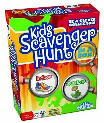 Kids Scavenger Hunt in a Box