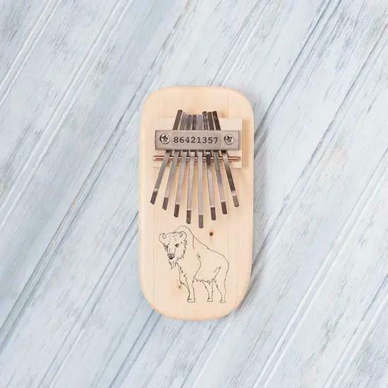 Buffalo Engraved Thumb Piano