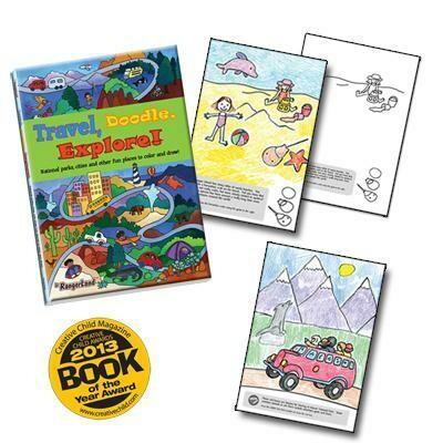 Jr. RangerLand Travel, Doodle, Explore! Activity Book