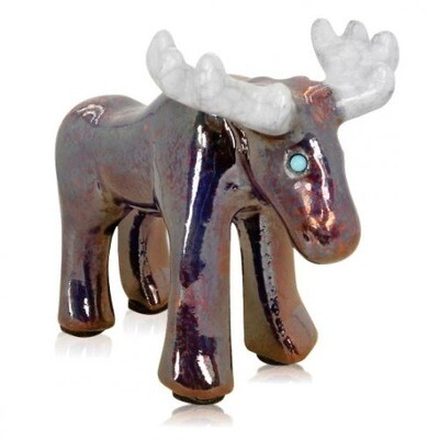 Mini Spirit Friend Moose Figurine