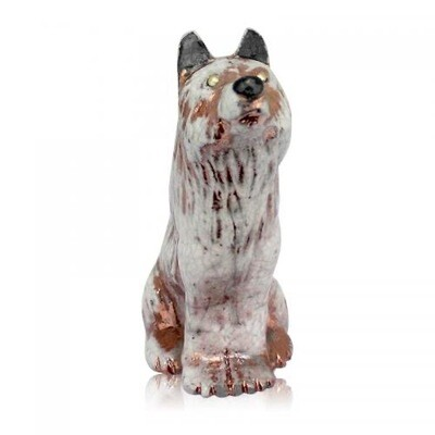 Mini Spirit Friend Wolf Figurine