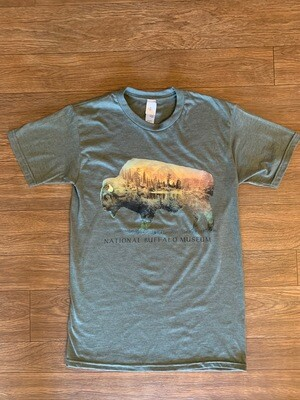 Wooded Buffalo T-Shirt