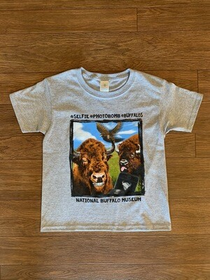 Buffalo Selfie Youth T-Shirt