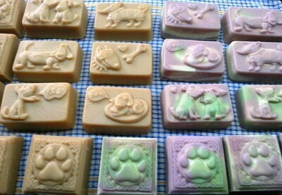 Dog Soap - All Natural, Soothing, anti-bacterial insect repelling