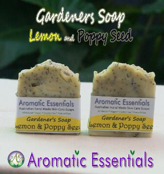 Soap - Lemon and Poppy Seed for Gardeners
