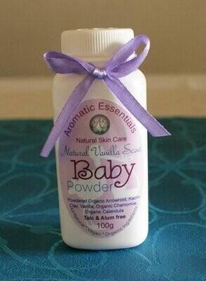 Baby Powder - Natural Safe No Talc or Aluminium