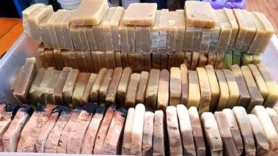 Soap Sampler Packs - Assorted Natural Samples