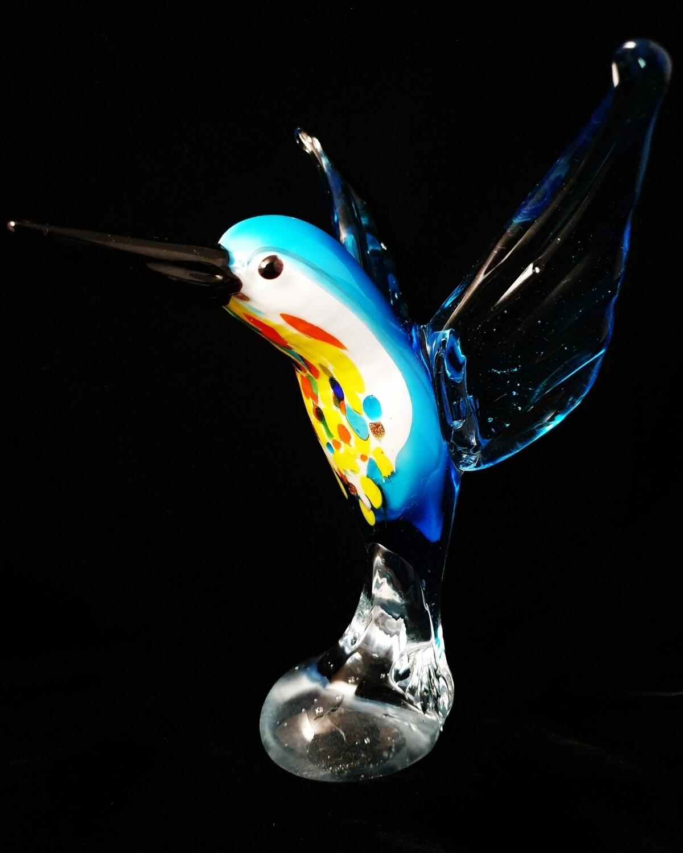Large Light Blue Hummingbird*