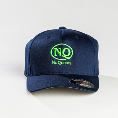 NQ Navy on Lime Flex Fit. (Now Available)