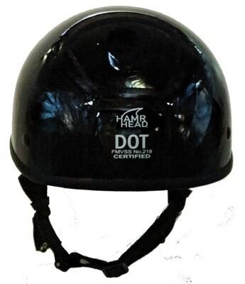 Smallest DOT Helmet - HamrHead Shorty-Gloss