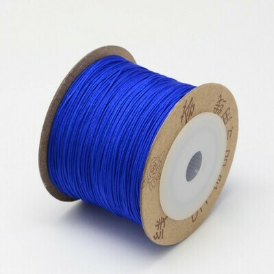 .8mm Chinese Knotting Cord Bright Blue x100m
