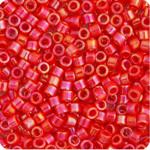 11/0 Delica Miyuki  Red Coral AB 159