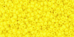 15/0 Round Toho Opaque Yellow 42