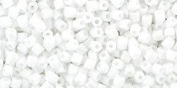 11/0 Hex Toho Opaque White 41