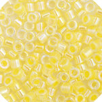 11/0 Delica Miyuki Pale Yellow Colourlined 53