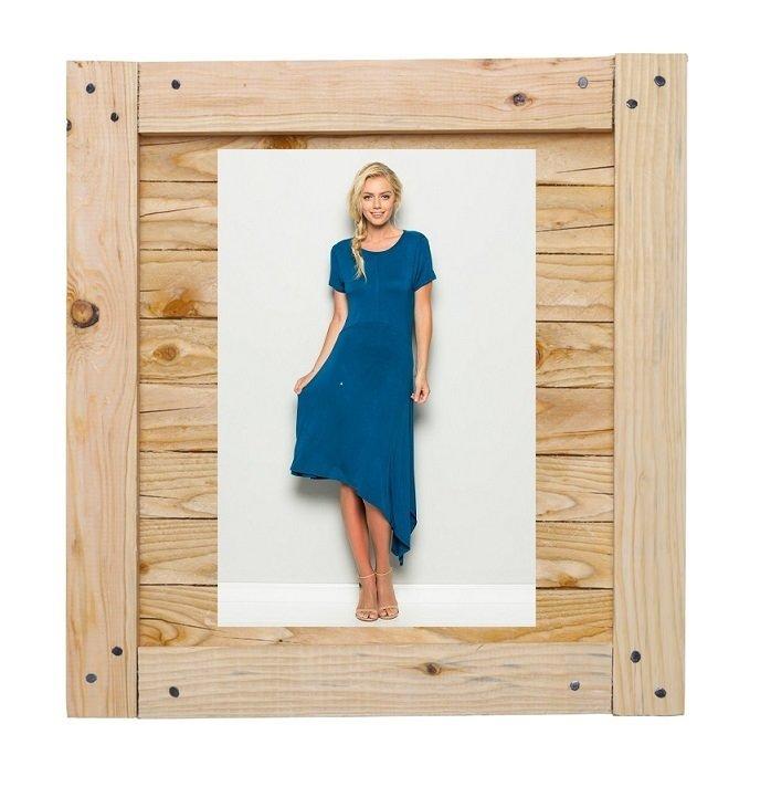 Bold and Beautiful Asymmetrical Dress