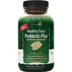IRWIN NATURALS Healthy Tract Probiotic Plus (with 3 billion cultures)