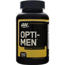 OPTIMUM NUTRITION Mens Opti Multi Vitamin (iron free)