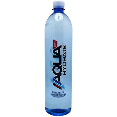 AQUAHYDRATE Electrolyte Enhanced Alkaline pH 9+ Water Bottles