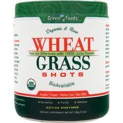 GREEN FOODS Wheat Grass Shots Powder (with iron 3mg, with iodine 14mcg)