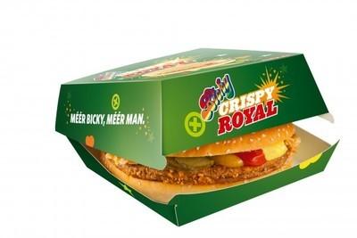 Bicky Crispy Royal Burger 16x170gr