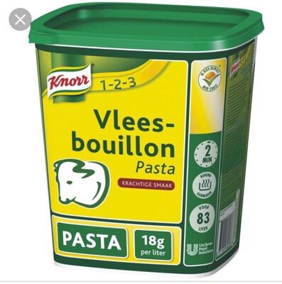 Vleesbouillon pasta 1,5kg Knorr