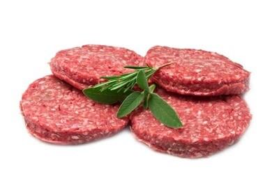 Iers runds angus burger 20 x 200 gr