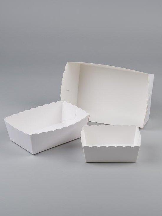 Karton friet bakje NR 2 (pl 2) 100 st prijs per 1000st