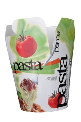 Pastabeker retro 750ml x 50st