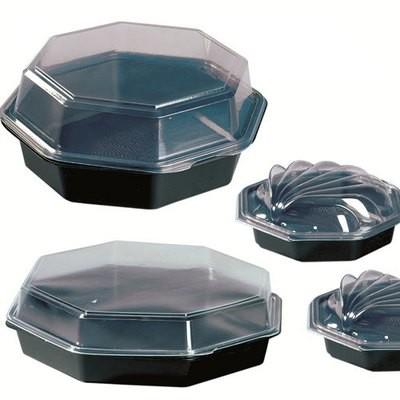 Octaview box zwart 19 x 19 x 6 ( 35 st )