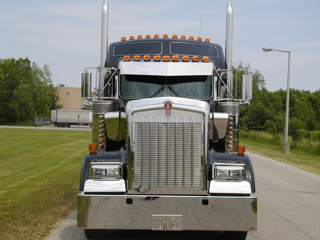 Valley Chrome Bumpers : Valley chrome kenworth w bumper bumpers and accessories
