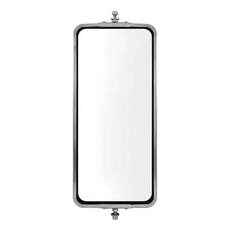 led stainless steel west coast mirror - 7 u0026quot  x 16 u0026quot