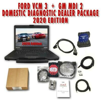 Ford IDS VCM 3 + GM MDI 2 Toughbook Diagnostic Package